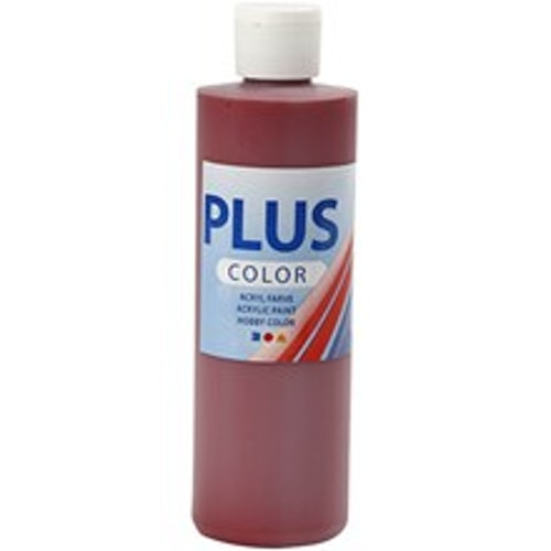 Plus Color, 250ml Akrylfärg, Antique Red