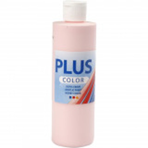 Plus Color, 250ml Akrylfärg, Soft pink