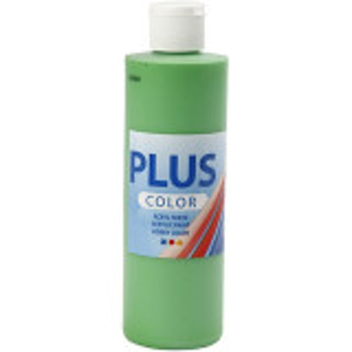 Plus Color, 250ml Akrylfärg, Bright green