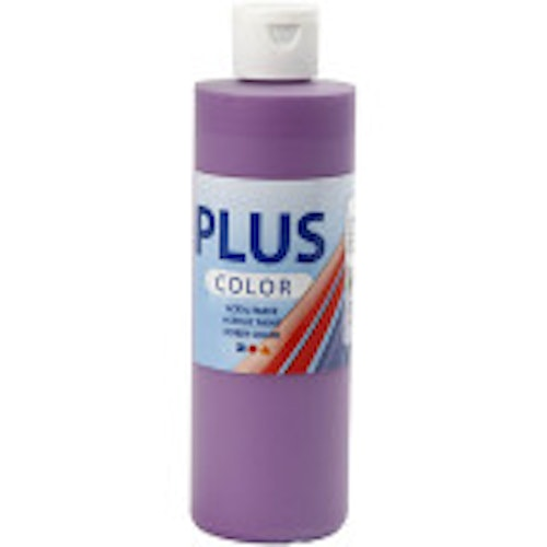 Plus Color, 250ml Akrylfärg, Dark lilac