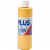 Plus Color, 250ml Akrylfärg, Yellow sun