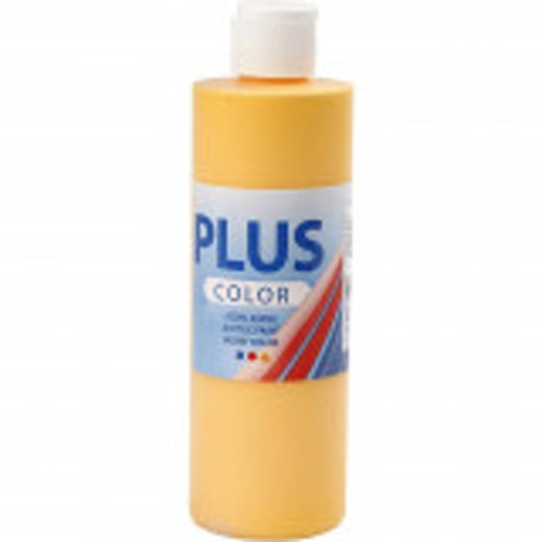 Plus Color, 250ml Akrylfärg, Yellow sun