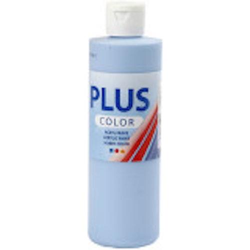 Plus Color, 250ml Akrylfärg, Sky blue