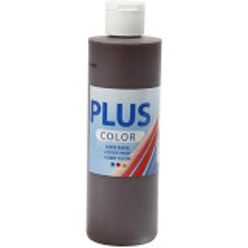 Plus Color, 250ml Akrylfärg, Chokolat
