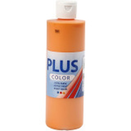 Plus Color, 250ml Akrylfärg, Pumpkin