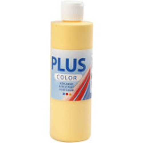 Plus Color, 250ml Akrylfärg, Crokus yellow
