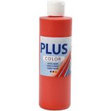 Color, 250ml Akrylfärg, Brilliant red