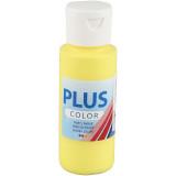 Plus Color hobbyfärg, primary yellow, 60ml