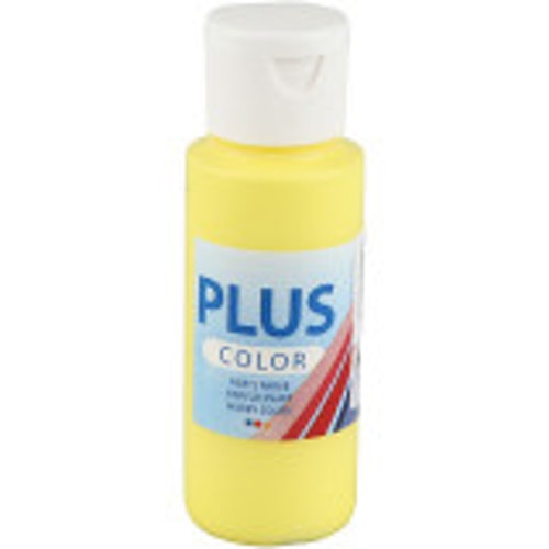 Plus Color hobbyfärg, primary yellow, 60ml