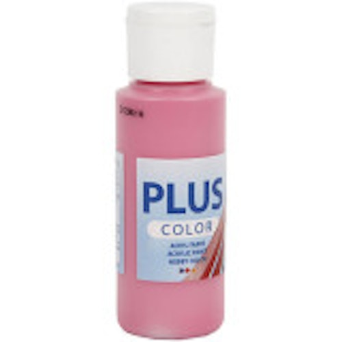 Plus Color hobbyfärg, fuchsia, 60ml