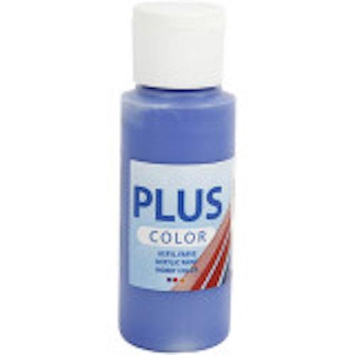 Plus Color hobbyfärg, ultra marine, 60ml