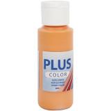 Plus Color hobbyfärg, pumpkin, 60ml