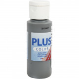 Plus Color hobbyfärg, dark grey, 60ml
