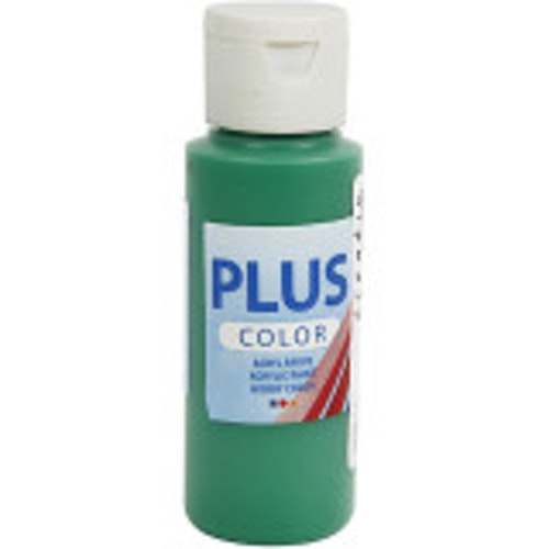Plus Color hobbyfärg, brilliant green, 60ml