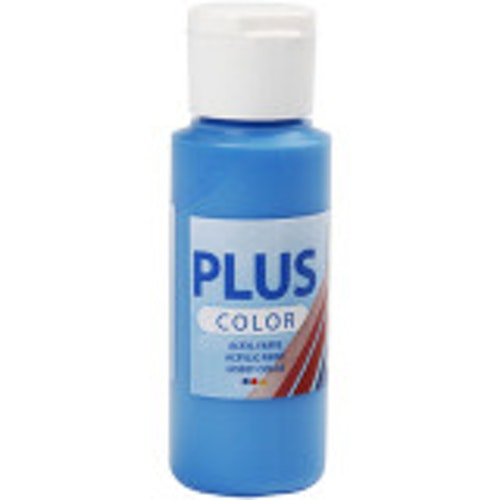 Plus Color hobbyfärg, primary blue, 60ml