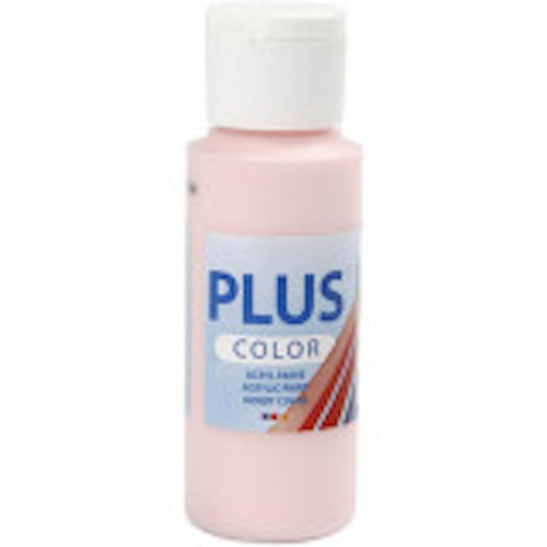 Plus Color hobbyfärg, soft pink, 60ml