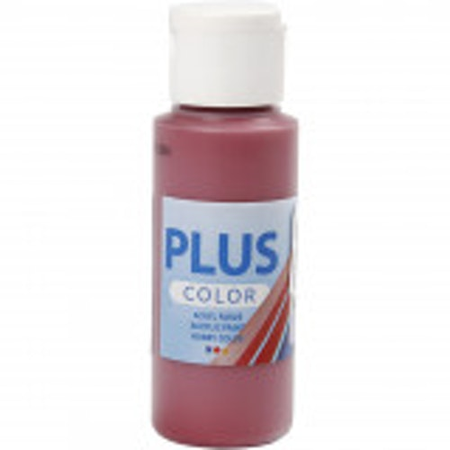 Plus Color hobbyfärg, antique red, 60ml