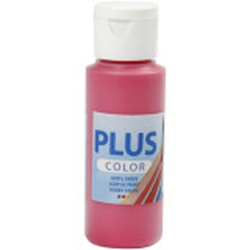 Plus Color hobbyfärg, primary red, 60ml