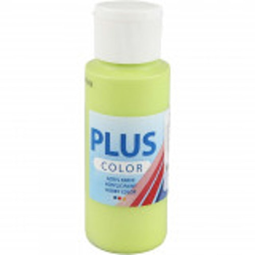 Plus Color hobbyfärg, lime green, 60ml