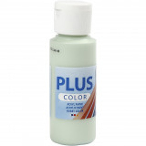 Plus Color hobbyfärg, spring green, 60ml
