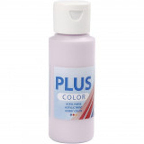 Plus Color hobbyfärg, pale lilac, 60ml