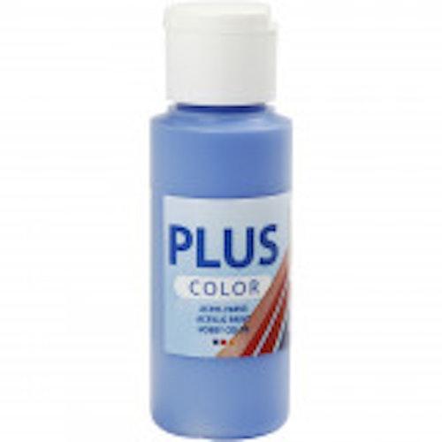 Plus Color hobbyfärg, cobolt blue, 60ml
