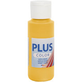 Plus Color hobbyfärg, yellow sun, 60ml