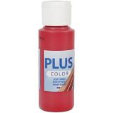 Plus Color hobbyfärg, berry red, 60ml