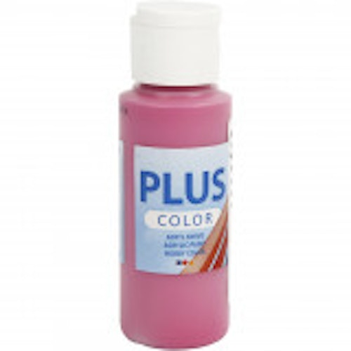 Plus Color hobbyfärg, royal fuchsia, 60ml