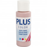 Plus Color hobbyfärg, dusty rose, 60ml