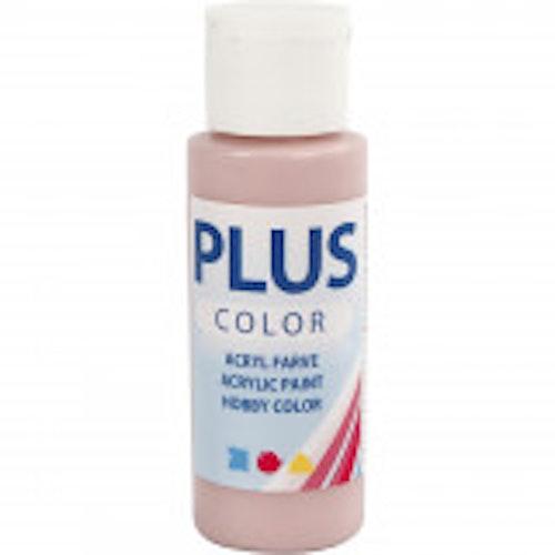 Plus Color hobbyfärg, dusty rose, 60ml