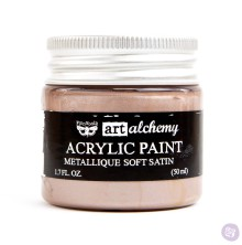 Prima Finnabair Art Alchemy Acrylic Paint 50ml - Metallique Soft Satin
