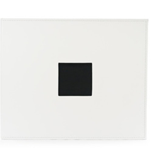 Album, 12x12, D-Ring - Faux leather, White