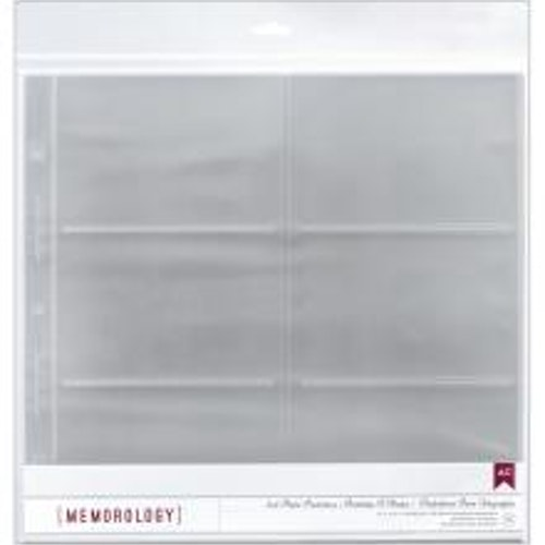 "Page Protectors 12""x12"", 4 x 6 Photo Pockets Memorology, American Craft"