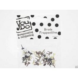 YouDo, Brads Round 5mm Frappochino 60st-Y1104