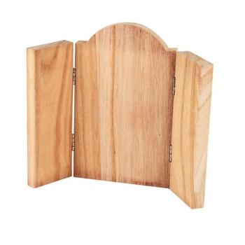 Ikonplatta, 18x22 cm, obehandlat trä