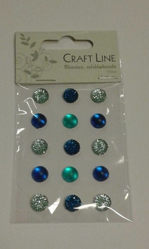 Rhinestione, Craft Line stora bling, blå