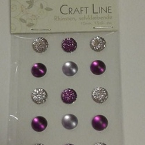 Rhinestione, Craft Line stora bling, lila