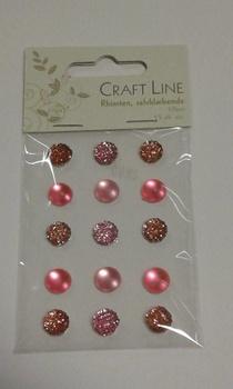 Rhinestione, Craft Line stora bling, rosa