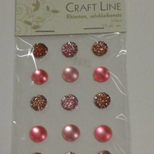 Rhinestione, Craft Line stora bling, rosa
