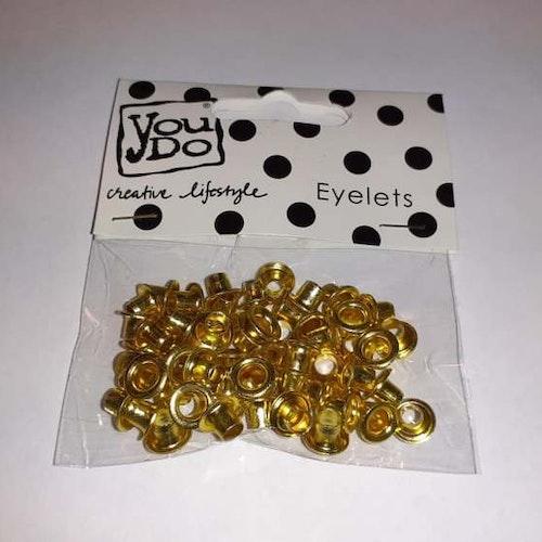 Eylets, YouDo, 60st stl 3/16 Guld