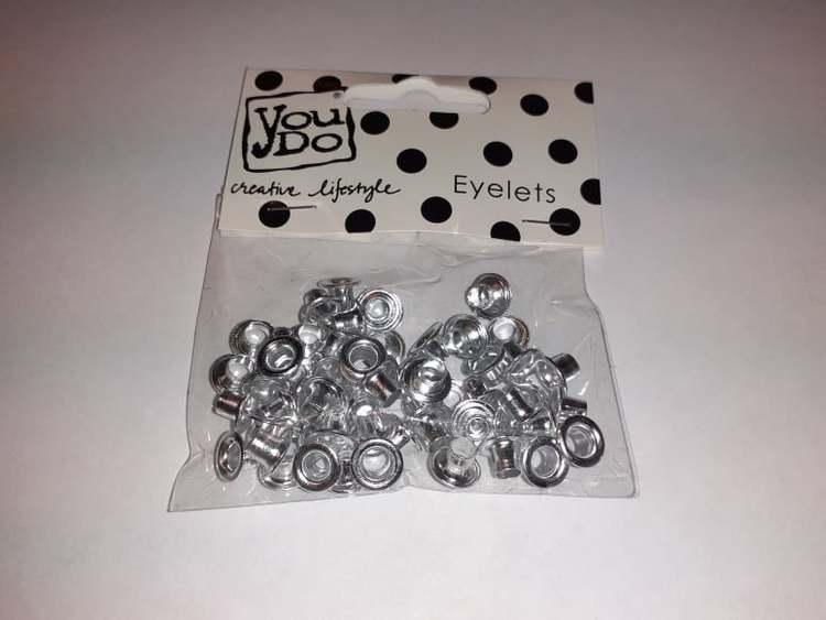 Eylets, YouDo, 60st stl 3/16 Silver