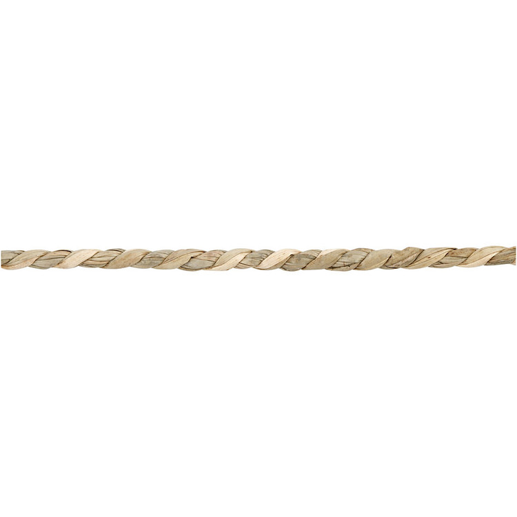 Snöre, Sjögräs, tjocklek 2,8-3 mm, natur. Per 1meter