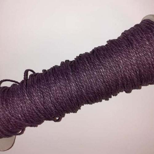 Papperssnöre, 1,8mm x 1 meter, Mörk lila