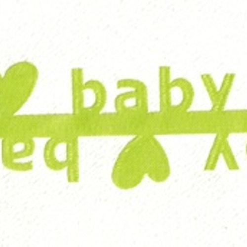 Satinband special BABY ljusgrön