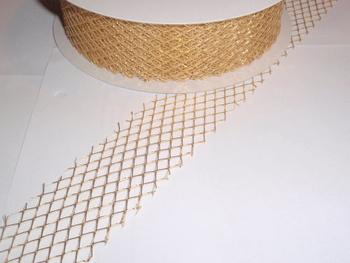 Gallerband, 10 cm, Guld