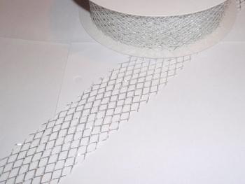 Gallerband, 10 cm, Silver