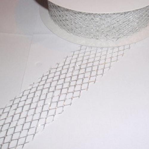 Gallerband, 4 cm, Silver