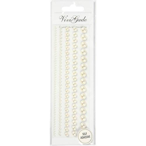 Pearls, Vivi Gade, white