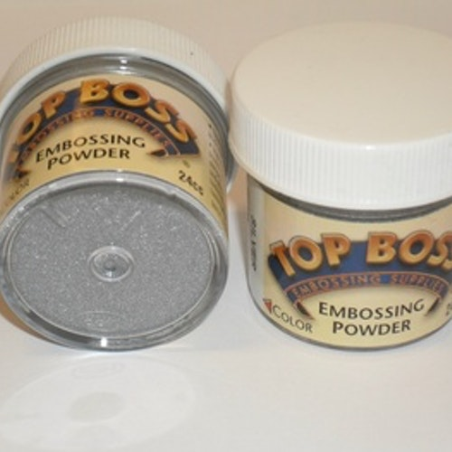 TopBoss, Embossing pulver, Silver